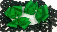 Hey, I found this really awesome Etsy listing at https://www.etsy.com/listing/200518146/green-x-large-hair-bow-6-inch-hair-bows