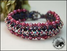 Crystals, pearls & seed beads