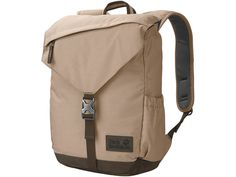 Jack Wolfskin Royal Oak Backpack from Eastern Mountain Sports - Tan/Beige Royal Oak, Jack Wolfskin, Hard Wear, Unisex, Recycled Fabric, Mens Gift Sets, Baby Clothes Shops, Sock Shoes, Pumps Heels