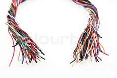 Stock image of 'Colorful wire'