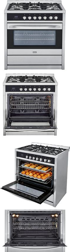 Ranges and Stoves 71250: Haier 3.8 Cu. Ft. Dual Fuel Convection Range -> BUY IT NOW ONLY: $999.99 on eBay!
