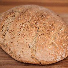 Receta de pan casero en vídeo. Ideas sencillas de cocina en CharHadas. #pancasero