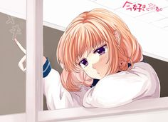 Zerochan has 152 HoneyWorks anime images, and many more in its gallery. All Anime, Anime Manga, Vocaloid, Zutto Mae Kara, Koi, Bored In Class, Honey Works, Anime Art Fantasy, Romance