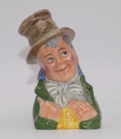 Dickens House Museum Artful Dodger Candle Snuffer Charles Dickens Fine Porcelain