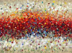 """""""Abstract Art Seventeen"""" by Lynne Taetzsch; Acrylic, Painting"""