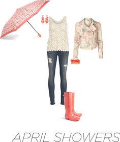 """""""Contest: April Showers Bring Out the Hip Rain Gear"""" by erinlindsay83 on Polyvore"""