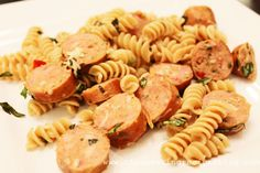 Clean Eating Recipe – Chicken Sausage with Pasta | Clean Eating Recipes