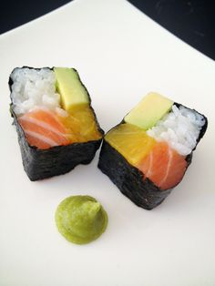 Wil je nét even iets anders op tafel zetten? Een echt originele sushi? Probeer dan eens deze ' Four seasons sushi'.