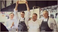 Uitreiking Culinaire Persoonlijkheid van de Belgische Gastronomie op Horeca Expo 2013 ism Foodprint - Filip Claeys De Jonkman