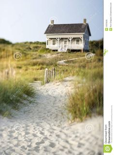 Cottage On Beach - Download From Over 27 Million High Quality Stock Photos, Images, Vectors. Sign up for FREE today. Image: 12976535