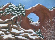 Acrylic Window Rock