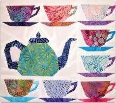Free Teapot Quilt Block Pattern