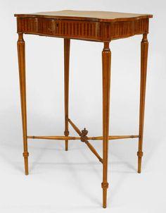 English Sheraton Style Th Cent Large Mahogany Section - Horseshoe conference table