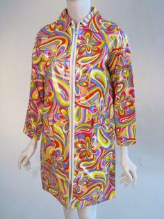 funky raincoat ca. 1965-1968
