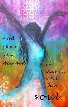 """And it all started as a 4 year old when I loved to twirl. Although it went to sleep for a while, dance is an expression of my soul. """"And then she decided to dance with her soul. Dance Quotes, Me Quotes, Tanz Poster, Positive Vibes, Positive Quotes, Encouragement, The Knowing, Spiritual Awakening, Awakening Quotes"""