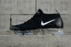 Best Quality Nike Air Vapor Max 2018 Flyknit 2 Triple Black Nike Air VaporMax 2 For Sale Nike Air Max Tn, New Nike Air, Nike Air Vapormax, Running Shoes Nike, Nike Shoes, Yeezy, Air Max Sneakers, Sneakers Nike, Slip On Tennis Shoes