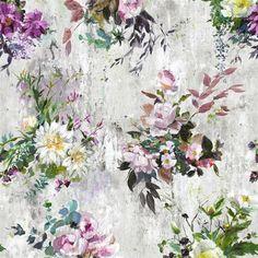 Aubriet Amethyst Wallpaper | Designers Guild
