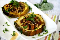 This Acorn Squash Rings with Walnuts and Dried Apricots recipe uses the powerful flavors of Garam Marsala to make it spectacular!