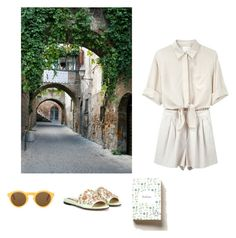 """""""Lost in Florence"""" by stradlatersgirl ❤ liked on Polyvore featuring 3.1 Phillip Lim, Rochas, CÉLINE and Anthropologie"""