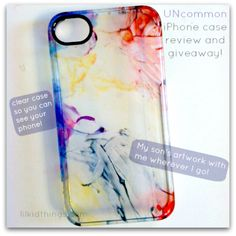 Quick turnaround - giveaway ends 5/2 !! Win $50 to create an iPhone/iPad Get Uncommon case! Lilkidthings.com