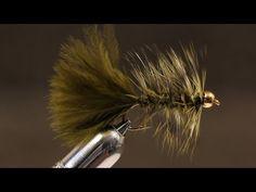 Trout or Pan fish Brass Bead Woolly Bugger 1 Dozen Brown