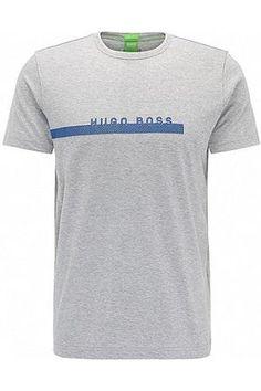 HUGO BOSS Camiseta regular fit con logo en algodón suave a8f5e5953e