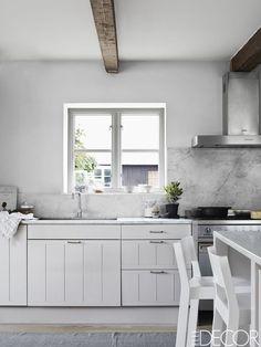 35 Best White Kitchens Design Ideas - Pictures of White Kitchen Decor - ELLEDecor.com