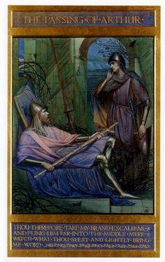 Sidney Harold Meteyard - The passing of King Arthur