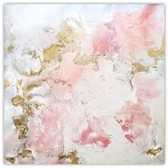 Image result for gold leaf abstract painting