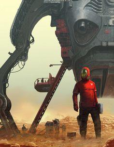 Dystopie – L'univers sombre et futuriste de Jaroslaw Marcinek | Ufunk.net