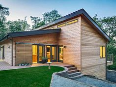 We make modern premium prefab homes. Made in the bay Area, our homes are built in half the time of traditional custom homes. And delivered to Northern California. Steel Framing, Passive House, Affordable Housing, Modular Homes, Curb Appeal, Future House, Building A House, Architecture Design, House Plans