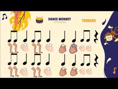 Ritmograma Percussió corporal - DANCE MONKEY (Tones and I) - YouTube Music Lessons For Kids, Music For Kids, Kids Songs, Music Education Activities, Craft Activities For Kids, Leadership Activities, Group Activities, Physical Education, Preschool Music