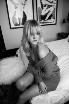 Turns out, girl has a serious thing for interior design & decor.  http://www.thecoveteur.com/erin-heatherton-model/