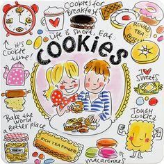 12,95 Blik Cookies van Blond-Amsterdam