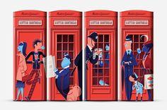 16 maneras de ilustrar Londres | Cherry Blog