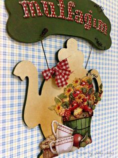 my kitchen Hobbies And Crafts, Diy And Crafts, Bakery Decor, Decoupage Art, Pintura Country, Kitchen Paint, Painting On Wood, Wood Art, Wood Crafts