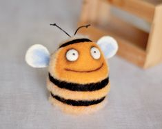 Needle felting - Felt toys - Felt doll - Figurines - Handmade toys - Eco friendly - Personalised gifts - Gifts for her - gifts for men by VladaHom on Etsy https://www.etsy.com/listing/244499544/needle-felting-felt-toys-felt-doll