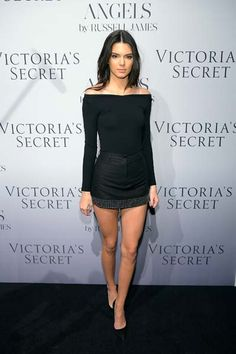 Kendall Jenner at the Victoria's Secret Angel book launch...
