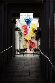 chihuly wall by Dailyville, via Flickr