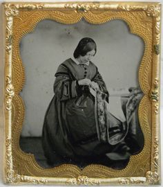 (c.1850s-60s) Embroidery Worker