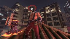 A kind of Pyro with Source Filmmaker