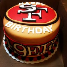 1000 Images About 49ers Cakes On Pinterest 49ers Cake