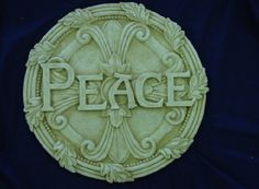Cool stepping stone made from a mold.