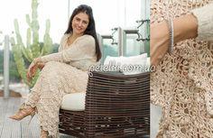 Длинная юбка от Ванессы Монторо. Схемы вязания