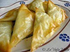 La Voglia Matta: Cucina greca : Tiropitakia ovvero sfogliatine al formaggio