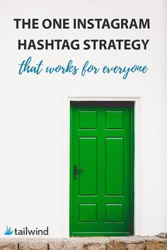 This Instagram hashtag strategy will help you find the perfect tags and reach the right people. via @tailwind