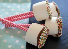marshmallow 2 Kids Birthday Treats, Marshmallow Dip, Cupcakes, Desserts, Diy, Food, Melk, Marshmallows, Google