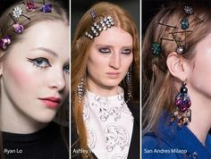 Fall/ Winter 2016-2017 Hair Accessories Trends: Bobby Pins