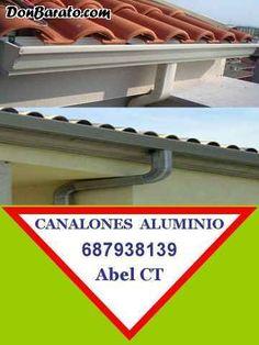 Canalones Aluminio Cartagena Murcia Alicante