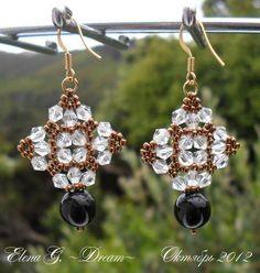 Crystal pendientes de diamantes 2